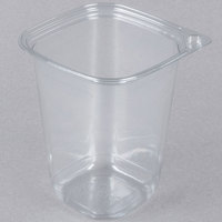 32 oz. Square Recycled PET Deli Container - 50/Pack