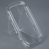 Tamper-Evident Recycled PET Sandwich Wedge Container - 50 / Pack