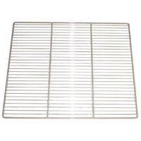 Continental Refrigerator 5-122S 22 1/4 inch x 19 5/8 inch Stainless Steel Shelf with Clips