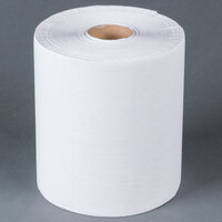 Lavex Janitorial White Roll Towel 600 Feet / Roll - 12 / Case