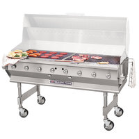 Bakers Pride CBBQ-60S Liquid Propane 60 inch Ultimate Outdoor Gas Charbroiler