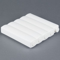 American Metalcraft F10800 Vidacasa 7 inch x 8 inch x 1 inch Rectangular White Cold Cell