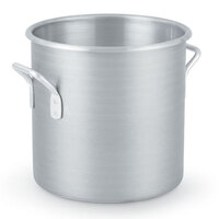 40 Qt. Vollrath Wear Ever Classic 4310 Aluminum Rolled Edge Stock Pot