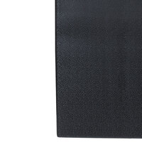 Tredlite Vinyl Pebbled Black Anti-Fatigue Mat 36 inch Wide - 3/8 inch Thick