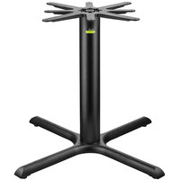 FLAT Tech CT2021 36 inch x 36 inch Auto Adjustable Black Table Base
