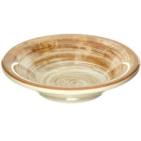 Carlisle 5401817 Mingle 4.5 oz. Copper Melamine Fruit Bowl - 48/Case