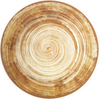 Carlisle 5400117 Mingle 11 inch Copper Round Melamine Plate   - 12/Case
