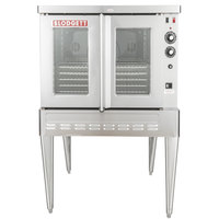 Blodgett SHO-100-G Liquid Propane Single Deck Full Size Convection Oven - 50,000 BTU