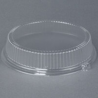 Dart Solo CL10P 10 inch Clear Dome Lid for Foam Plates - 500 / Case