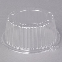 Dart Solo CL6P 6 inch Clear Dome Lid for Foam Dinnerware - 125/Pack