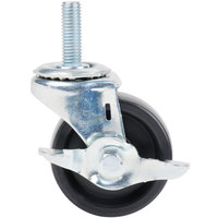 3 5/8 inch Swivel Stem Caster with Brake