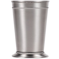 World Tableware JC-25 15 oz. Mint Julep Cup with Beaded Detailing   - 12/Case