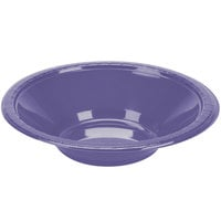 Creative Converting 28115051 12 oz. Purple Plastic Bowl - 20/Pack