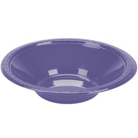 Creative Converting 28115051 12 oz. Purple Plastic Bowl - 20 / Pack