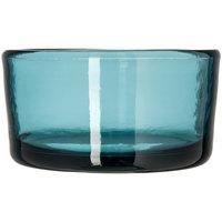 Carlisle MIN544415 Mingle 22 oz. Teal Tritan Plastic Bowl - 12 / Pack