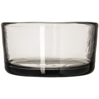 Carlisle MIN544418 Mingle 22 oz. Smoke Tritan Plastic Bowl - 12 / Pack