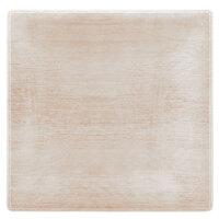 Carlisle 6402270 Grove 10 1/2 inch Adobe Square Melamine Dinner Plate - 12 / Case