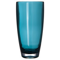 Carlisle EP4015 Epicure Cased 22 oz. Aqua Tritan Plastic Highball Glass - 12/Case