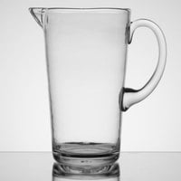 Carlisle MIN544307 Mingle 74 oz. Clear Tritan Plastic Pitcher - 4 / Case