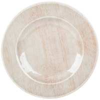 Carlisle 6400470 Grove 12 1/2 inch Adobe Round Melamine Charger Plate - 12/Case