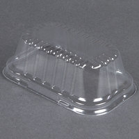 D&W Fine Pack 4299 Clear Dome Lid for 1 lb. Foil Bread Loaf Pan 50 / Pack