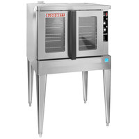 Blodgett ZEPHAIRE-200-G-ES Single Deck Full Size Bakery Depth Gas Convection Oven with Draft Diverter - 50,000 BTU