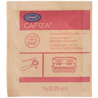 Urnex 12-ESP100-14 .25 oz. Cafiza Espresso Machine Cleaning Powder Packet - 100/Case