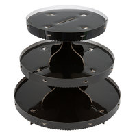 Wilton 1512-0860 3-Tier Black Disposable Cupcake Display Stand
