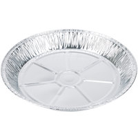 Baker's Mark 12 inch x 1 3/8 inch Extra Deep Foil Pie Pan - 20 / Pack
