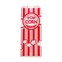 Carnival King 3 1/2 inch x 2 1/4 inch x 8 1/4 inch Popcorn Bag - 1000 / Case