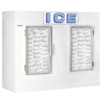 Polar Temp 1000CWG Two Door Cold Wall Indoor Ice Merchandiser - 100 cu. ft.