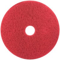 3M 5100 18 inch Red Buffing Pad - 5 / Case