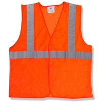 Orange Class 2 High Visibility Surveyor's Safety Vest with Velcro® Closure - XXXL