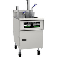 Pitco SG18SD Natural Gas 70-90 lb. Floor Fryer with Digital Controls - 140,000 BTU
