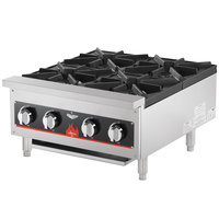 Vollrath 40737 4 Burner Counter Top Hot Plate / Range Natural / LP Gas