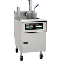 Pitco SG18SC Liquid Propane 70-90 lb. Floor Fryer with Intellifry Computer Controls - 140,000 BTU