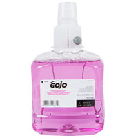 GOJO® 1912-02 LTX Plum 1200 mL Foaming Antibacterial Hand Soap - 2 / Case