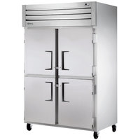 True STM2R-4HS Two Section Solid Half Door Reach-In Refrigerator