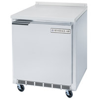 Beverage-Air WTF24A 24'' Single Door Worktop Freezer - 7 cu. ft.
