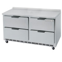 Beverage-Air WTFD60A-4 60 inch Four Drawer Worktop Freezer - 17.1 cu. ft.