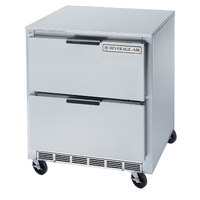Beverage-Air UCFD27A-2 27 inch Undercounter Freezer with 2 Drawers - 7.3 Cu. Ft.