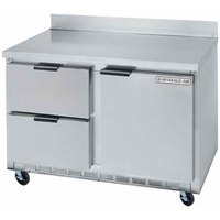 Beverage-Air WTFD48A-2 48 inch Two Drawer / One Door Worktop Freezer - 13.9 cu. ft.
