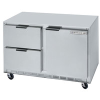 Beverage-Air UCFD48A-2 48 inch Undercounter Freezer with 2 Drawers and 1 Door - 13.9 Cu. Ft.