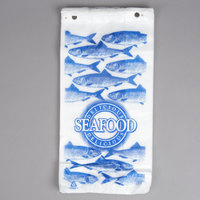 Seafood Bag 7 inch x 4 inch x 15 inch Delicious Seafood Design 1000 / Case