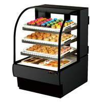 True TCGD-31 31 inch Black Dry Bakery Display Case - 14 Cu. Ft.