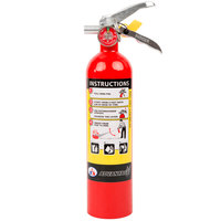 Badger Advantage ADV-250 2.5 lb. Dry Chemical ABC Fire Extinguisher with Vehicle Bracket - Untagged and Rechargeable - UL Rating 1-A:10-B:C