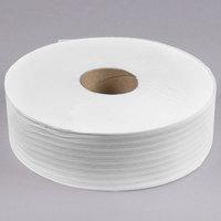 VonDrehle 4112 Preserve 1-Ply Jumbo 4000' Toilet Paper Roll with 12 inch Diameter - 6/Case