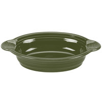Homer Laughlin 587340 Fiesta Sage 17 oz. Oval Baker - 4 / Case