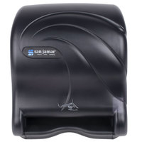 San Jamar T8490TBK Smart Essence Oceans Hands Free Paper Towel Dispenser - Black Pearl