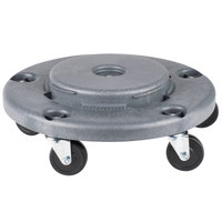 Lavex Janitorial Gray Trash Can Dolly